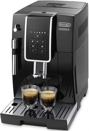 Кофемашина DeLonghi ECAM 350.15.B 1450 Вт черный цена и фото