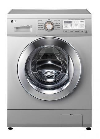 Стиральная машина LG FH0B8ND4 серебристый стиральная машина узкая lg f12u1hbs4