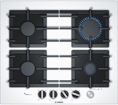 Варочная панель газовая Bosch PPP6A2M90R белый