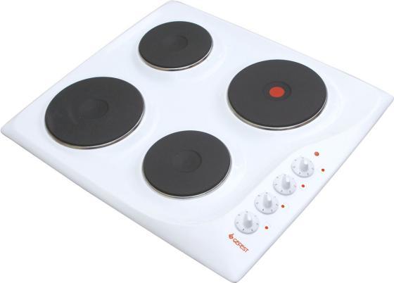 Варочная панель электрическая Gefest СВН 3210 белый цена и фото