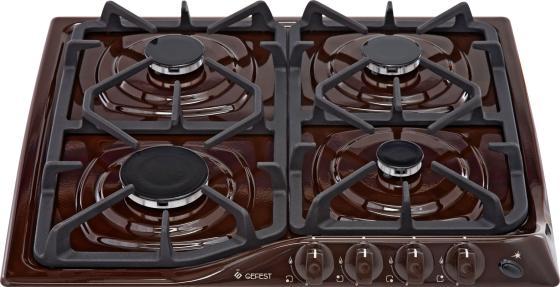 Варочная панель газовая Gefest СГ СН 1210 К7 коричневый варочная панель gefest сг cн 1210