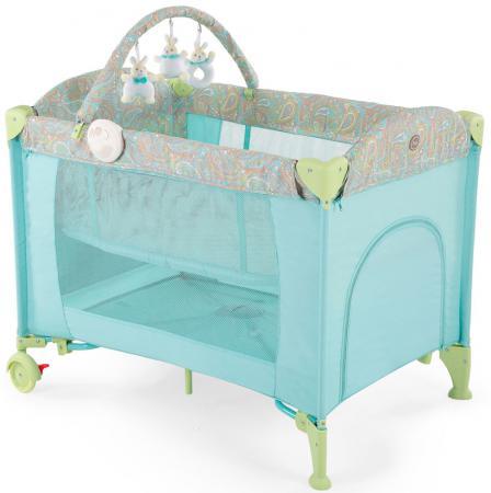 Манеж-кровать Happy Baby Lagoon V2 (blue) детское автокресло happy baby skyler blue