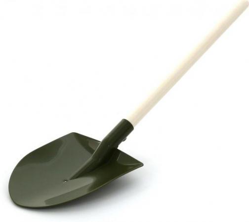 Лопата Полесье деревянный черенок  51646 полесье лопата 24