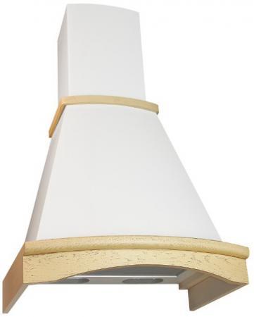 Вытяжка каминная Elikor Ротонда 60П-650-П3Л бежевый /дуб кремовый  elikor ротонда 60п 650 п3л мед дуб вытяжка