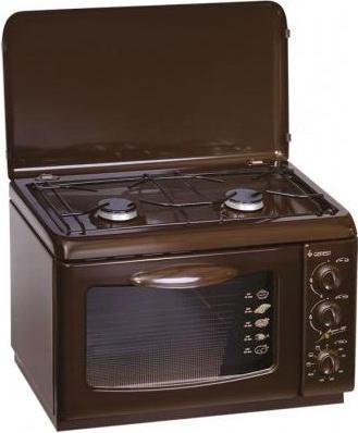 Газовая плита Gefest 120 K 19 коричневый газовая плита gefest пгэ 120 к19 электрическая духовка коричневый