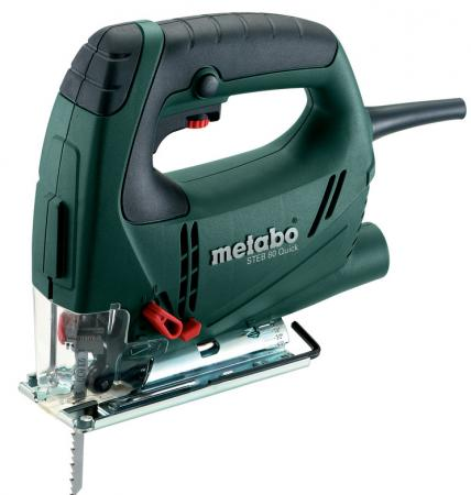Лобзик Metabo STEB 80 Quick 590 Вт лобзик metabo steb 80 quick 601041500