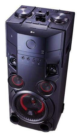 Минисистема LG OM6560 500Вт черный минисистема lg cj45