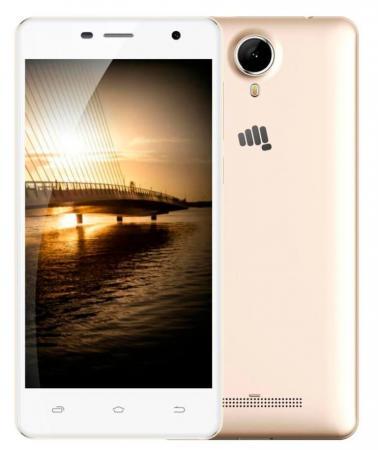Смартфон Micromax Q351 Champagne белый 5 8 Гб GPS Wi-Fi 3G смартфон micromax q326 3g 4gb champagne