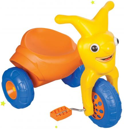 Велосипед трехколёсный Pilsan Детский велосипед Clown 6/8 желто-оранжевый комплект постельного белья из микрофибры алый пион размер 1 5 спальный