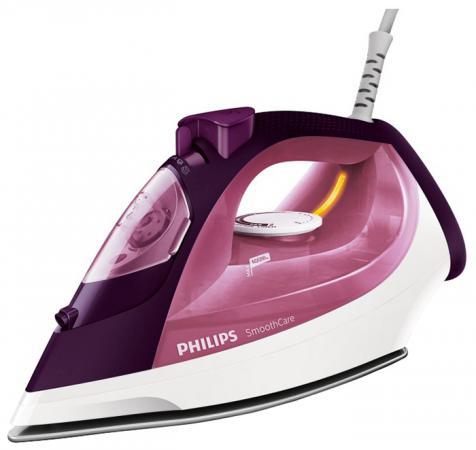 Утюг Philips GC3581/30 2400Вт бордовый утюг philips gc2995 30 2400вт фиолетовый