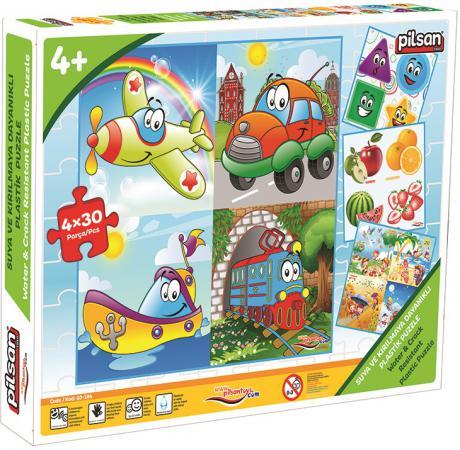 Пазл 120 элементов Pilsan Транспорт 03-194 tooky toy пазл транспорт tkc393