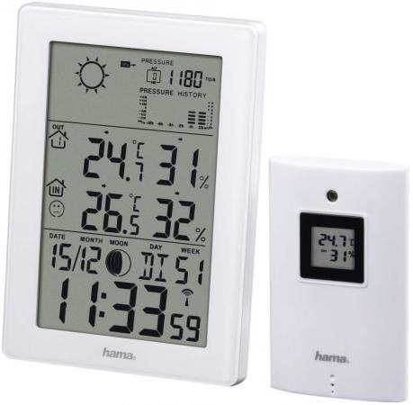 все цены на Погодная станция Hama EWS-3200 белый 136258 онлайн