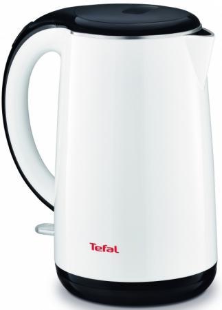 Чайник Tefal KO260130 2400 Вт белый 1.7 л металл/пластик tefal ko260130