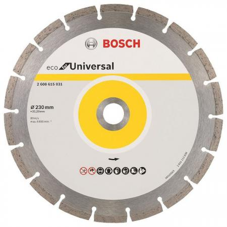 Алмазный диск Bosch ECO Universal универсальный 2608615031 цена в Москве и Питере