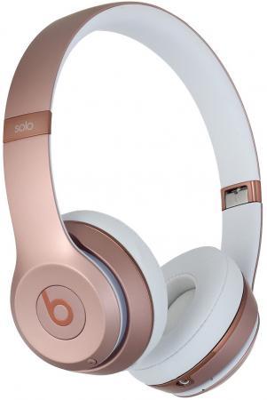 Наушники Apple Beats Solo3 Wireless розовый MNET2ZE/A наушники apple beats solo 2 wl красный mh8y2zm a