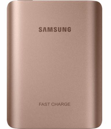 все цены на Портативное зарядное устройство Samsung EB-PN930CZRGRU 10200mAh универсальный 1xUSB розовый онлайн