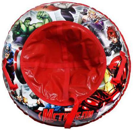 Тюбинг DISNEY MARVEL Мстители до 100 кг ПВХ разноцветный Т59056 наклейки disney мстители 100 шт