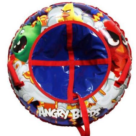 Тюбинг 1Toy Angry Birds ПВХ разноцветный цены онлайн