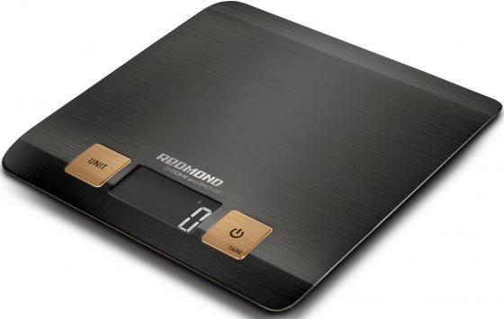 Весы кухонные Redmond RS-CBM727 чёрный кухонные весы redmond rs 736 полоски