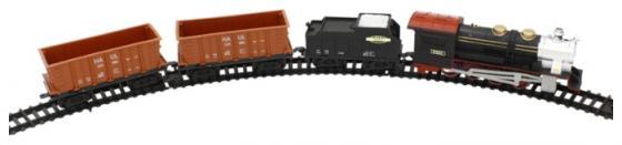 Железная дорога 1toy Восточный Экспресс320см.,12дет.,свет,звук,паровоз,тендер, 2 платформы-контейнера.рельс 3,5см Т54441 железная дорога 1toy супер экспресс новые дороги 59 эл