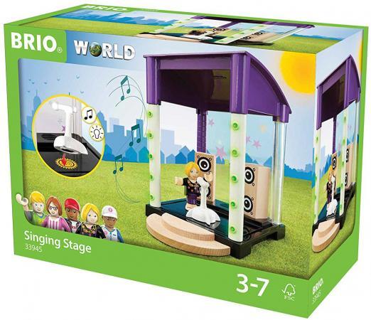 Игровой набор Brio Караоке-клуб,звук,6 предметов brio игровой набор brio полицейский участок свет звук 6 элементов