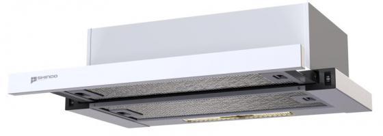 Вытяжка встраиваемая Shindo LIBRA 50 белый вытяжка подвесная shindo gemma 50w белый