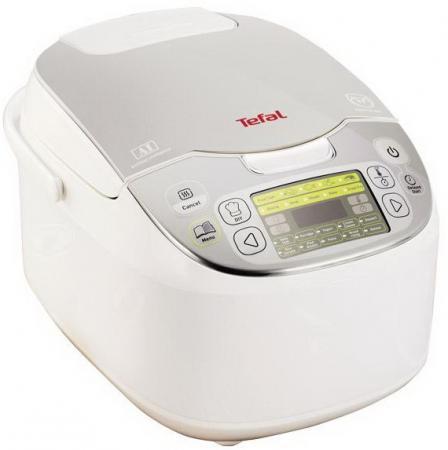 все цены на Мультиварка Tefal RK816E32 750 Вт 5 л белый