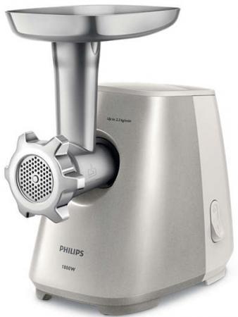 Электромясорубка Philips HR2723/20 500 Вт серебристый philips hr2723 20 white