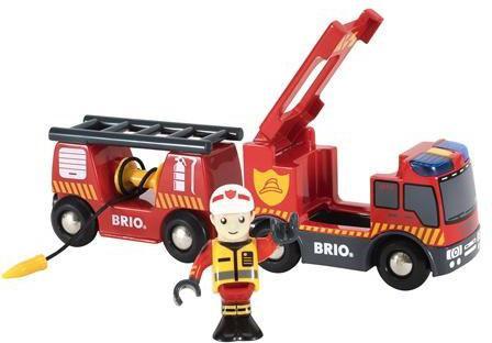 Пожарная машина Brio Пожарная машина 33811 с 3-х лет 33811 цена