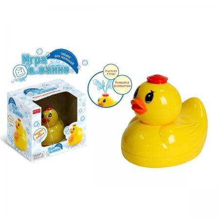 Интерактивная игрушка Zhorya Утка от 12 месяцев жёлтый mattel barbie сияние моды