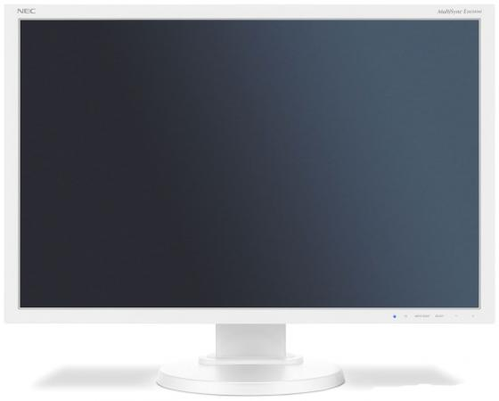"Монитор 24"" NEC E245WMi белый PLS 1920x1200 250 cd/m^2 6 ms DVI DisplayPort VGA Аудио недорого"