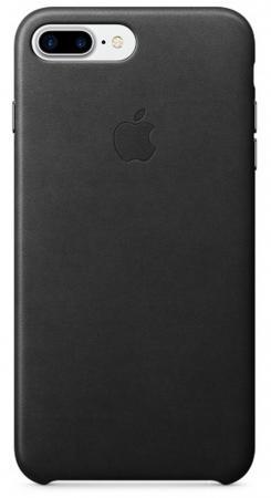 Чехол Apple Leather Case для iPhone 7 Plus чёрный MMYJ2ZM/A mercury goospery milano diary wallet leather mobile case for iphone 7 plus 5 5 grey