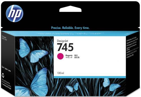 Картридж HP 745 F9J95A для HP DesignJet пурпурный материнская плата пк gigabyte ga h81m s2pv rev 1 0 ga h81m s2pv