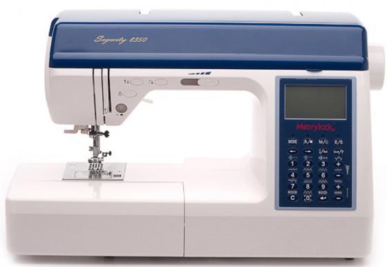 Швейная машина Merrylock 8350 белый/синий цена