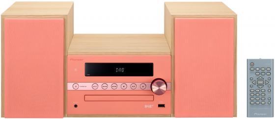 Микросистема Pioneer X-CM56-R 30Вт красный цена и фото