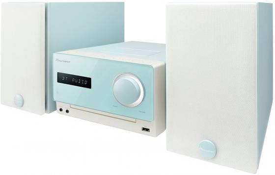 Микросистема Pioneer X-CM35-L 30Вт голубой