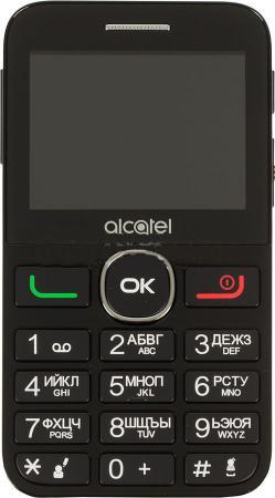 Мобильный телефон Alcatel Tiger XTM 2008G белый черный 2.4 16 Мб мобильный телефон alcatel onetouch 1020d черный 1 77 4 мб
