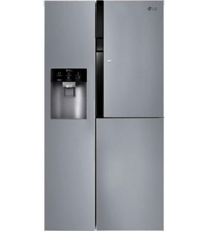 Холодильник Side by Side LG GC-J247JABV серебристый холодильник side by side samsung rs552nrua9m