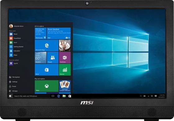 "Моноблок 23.6"" MSI Pro 24 6M-015RU 1920 x 1080 Intel Pentium-G4400T 4Gb 1Tb Intel HD Graphics 510 DOS черный 9S6-AE9311-015 цены онлайн"
