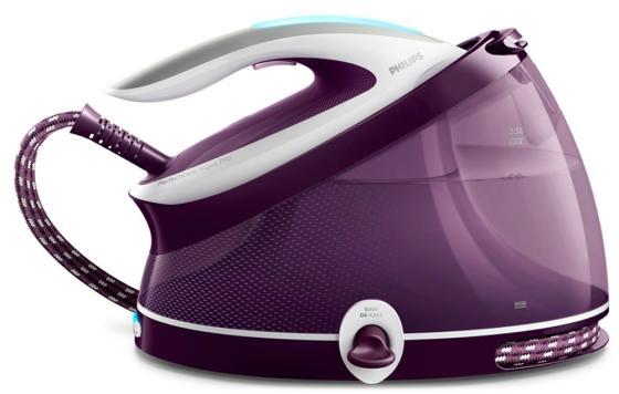 Паровая станция Philips GC9315/30 2100Вт белый фиолетовый паровая станция philips gc9315 30 2100вт белый фиолетовый