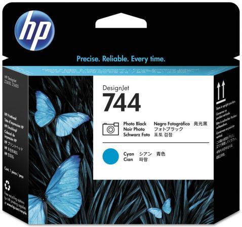 Печатающая головка HP 744 F9J86A для HP Designjet Z2600 Z5600 черный синий hp designjet t830 36 f9a30a