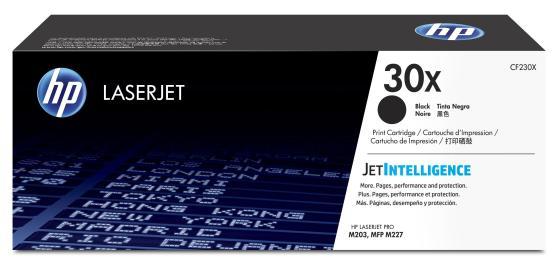 Картридж HP 30X CF230X для HP LaserJet Pro M203/M227 черный