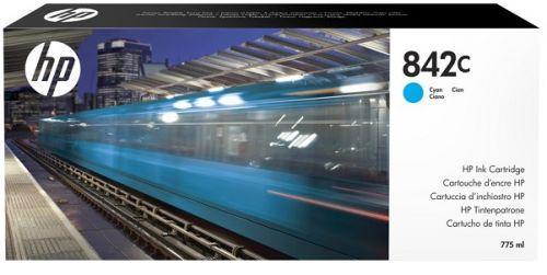 Фото - Картридж HP 842C C1Q54A для HP PageWide XL 8000 голубой контейнер для очистки hp 841 pagewide xl