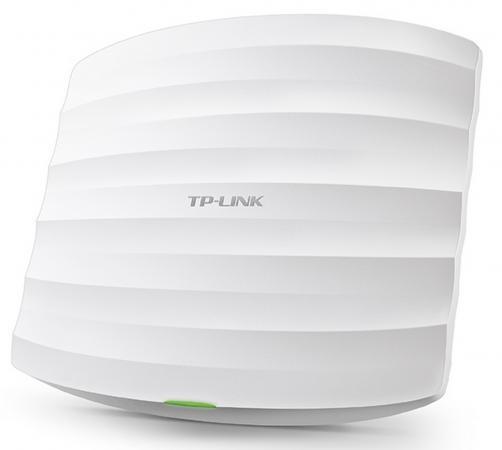 Точка доступа TP-LINK EAP330 802.11acbgn 1900Mbps 2.4 ГГц 5 ГГц 1xLAN RJ-45 PoE белый wi fi роутер tp link wbs510 wbs510