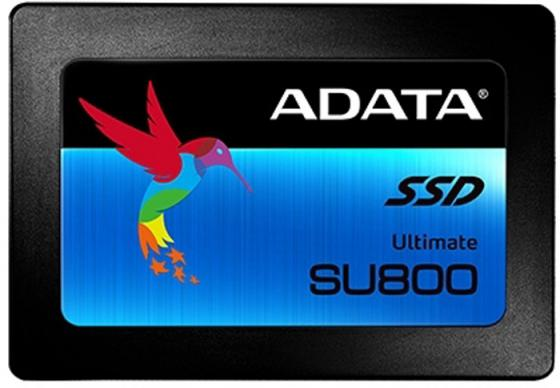 Твердотельный накопитель SSD 2.5 128GB A-Data Ultimate SU800 Read 560Mb/s Write 300Mb/s SATAIII ASU800SS-128GT-C накопитель ssd a data adata ultimate su800 512gb asu800ss 512gt c