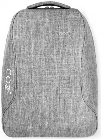 Рюкзак для ноутбука 17 Cozistyle City Urban Backpack полиэстер серый CPCB004 100% cowhide backpack pabojoe brand 2017