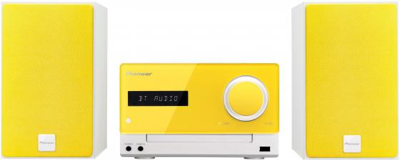 Микросистема Pioneer X-CM35-Y 30Вт желтый