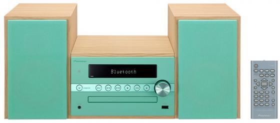Микросистема Pioneer X-CM56-GR 30Вт зеленый музыкальный центр pioneer x cm 56 gr