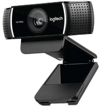 купить Веб-Камера Logitech C922 Pro Stream Webcam 960-001088 по цене 7260 рублей