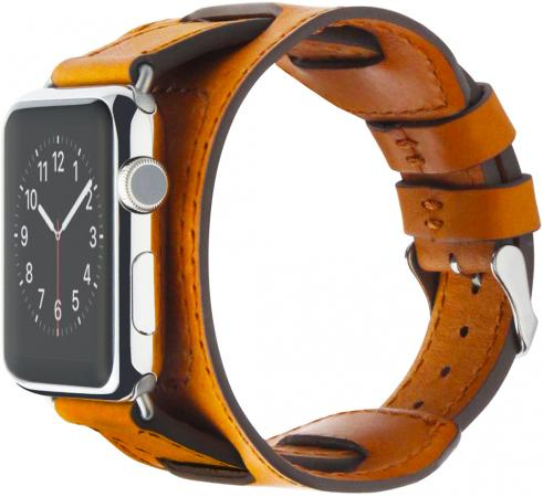 все цены на Ремешок Cozistyle CWLB18 для часов Apple Watch 42мм коричневый онлайн